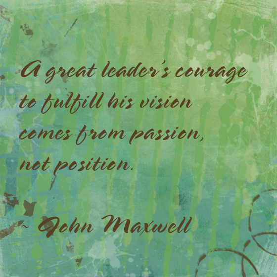 leader's courage