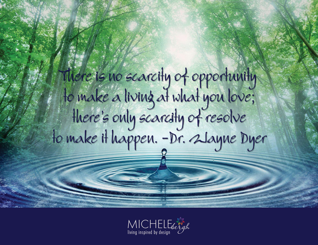 No Scarcity of Opportunity
