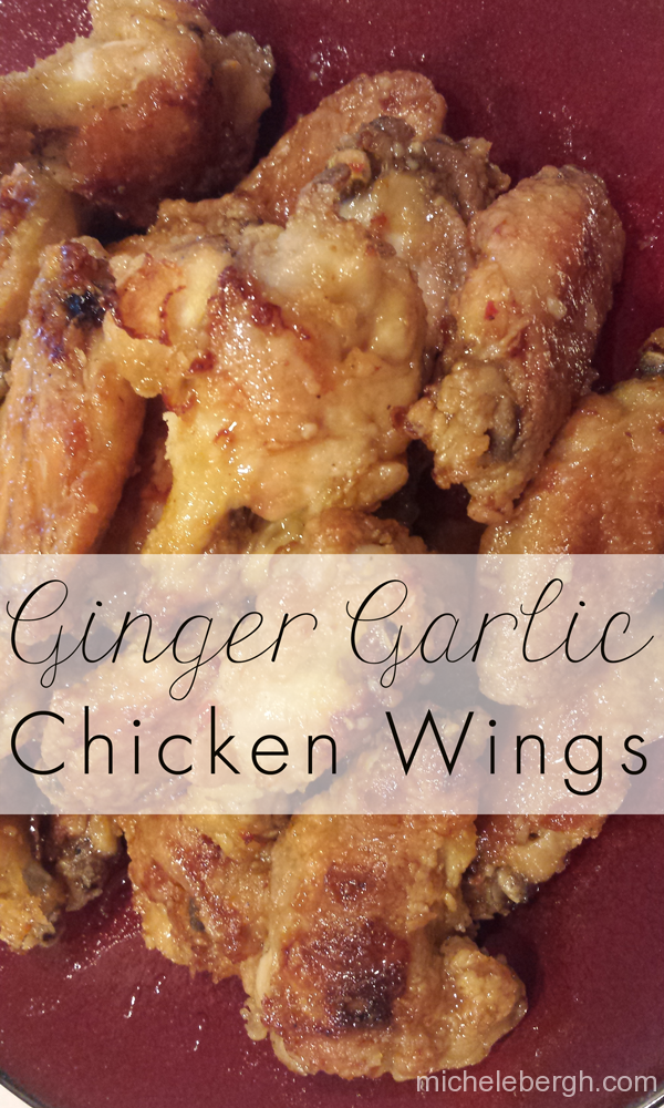 ginger garlic chicken wings