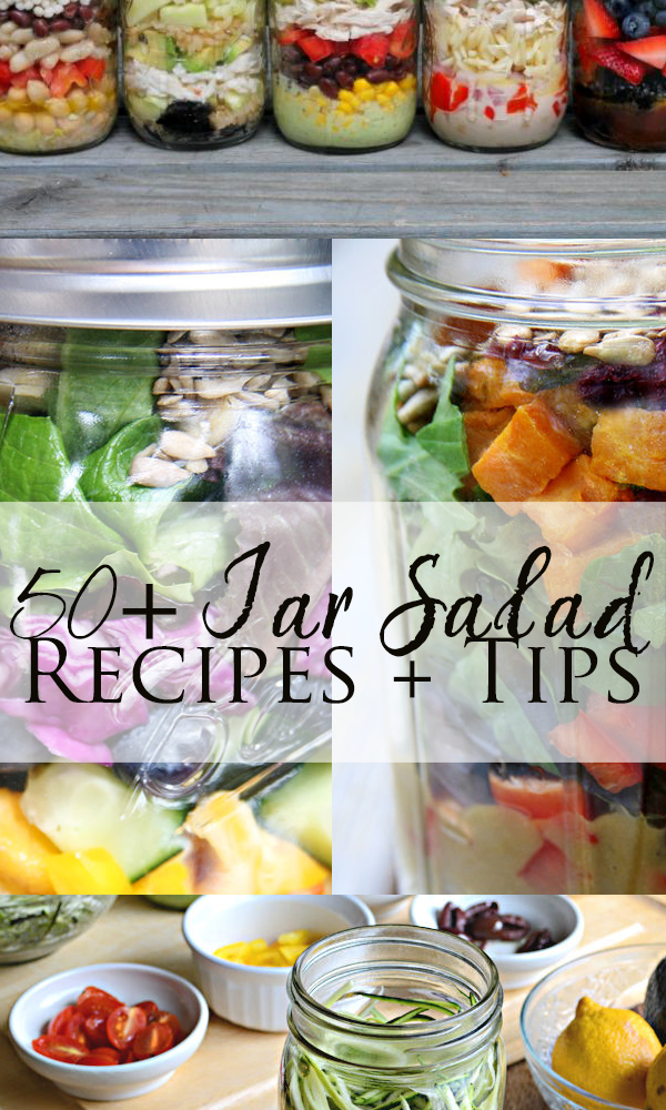 jar salad recipes and tips